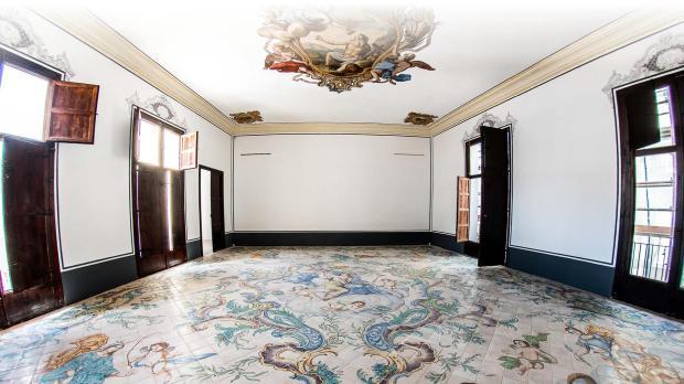 salón principal museo de la seda de valencia